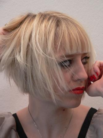 Frisur zu kurz