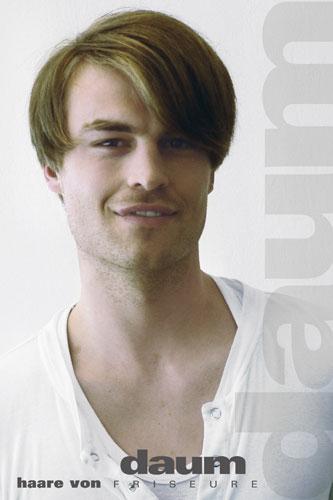 Model, Männer Frisur Foto 1