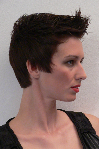 Anna, Kurzhaarschnitt Frauen Foto 5