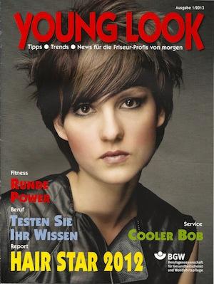 Young Look ist eine Zeitschrift für Friseur-Azubis Ausgabe 1 / 2013