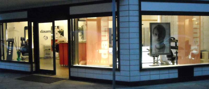 Daum-Friseure Hamburg City Geschäft aussen
