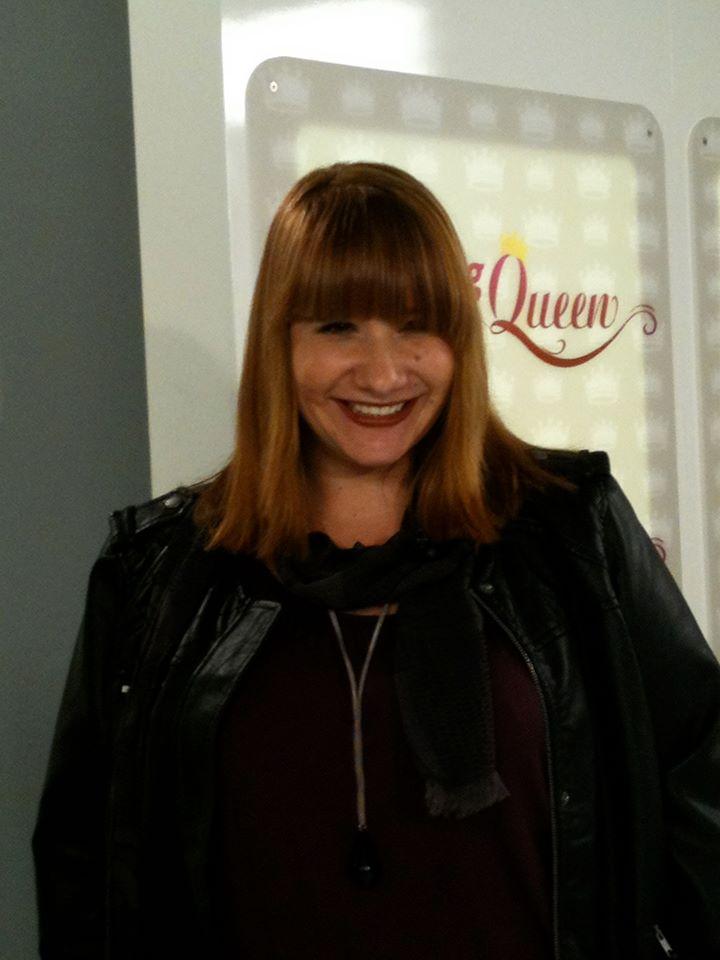Andrea bei Shopping Queen, Haare von Daum Friseure!