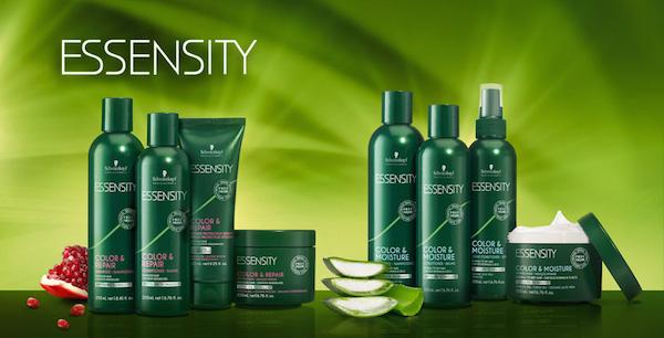 Essensity Pflegesystem für schöne Haare von Schwarzkopf