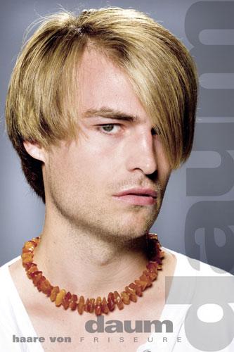 Model, Männer Frisur Foto 6