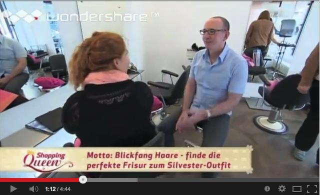 Video Daum Friseure Hamburg bei Shopping Queen