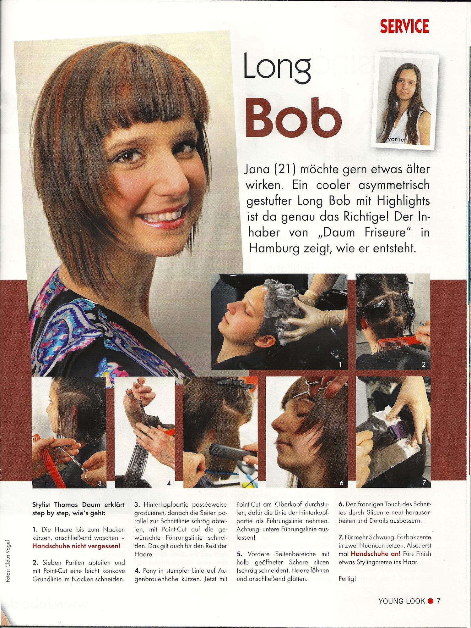 Daum Friseure Für Young Look Mit Long Bob Frisur
