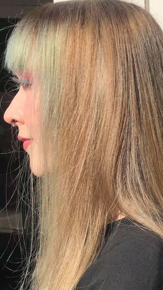 Sunny-Lee neue Strähnen Bild 9